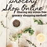How to Grocery Shop Online to Save Money and Time!