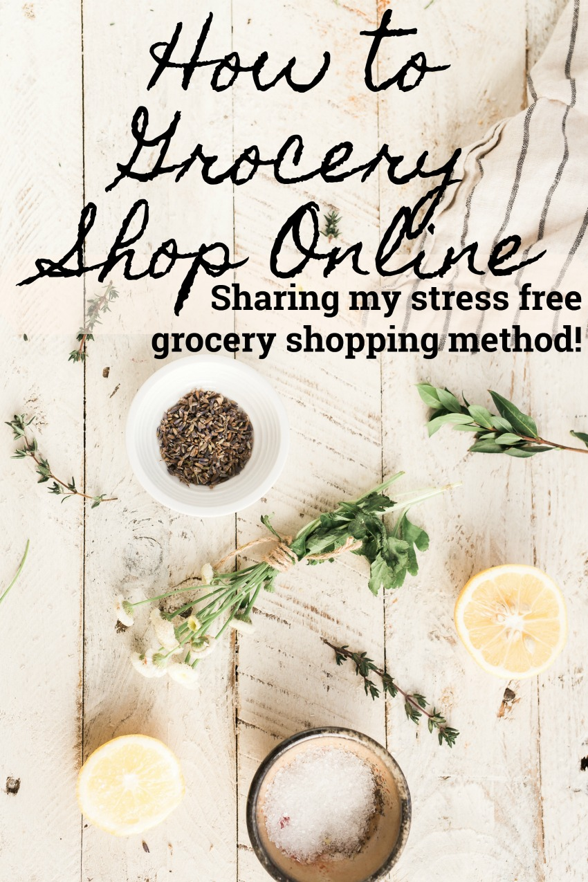 Quick Tip Tuesday: How to Grocery Shop Online to Save Money and Time!