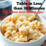 How To Cook 30 Minute Meals