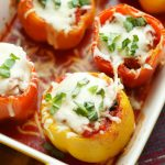 Supreme Pizza Stuffed Peppers