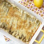 Asparagus Gratin with Lemon Breadcrumbs