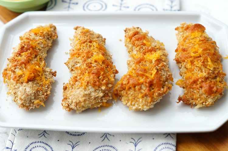 Cheddar And Pretzel Crusted Baked Chicken