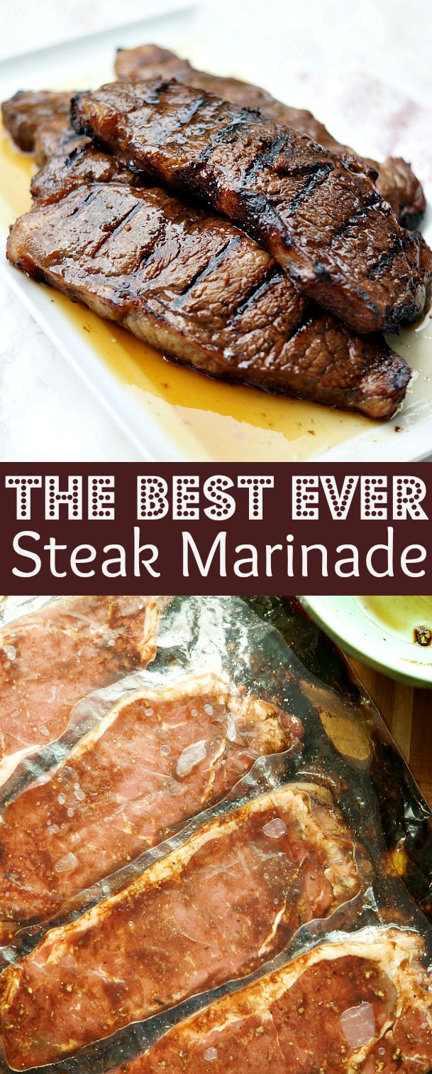 The Best and Easiest Steak Marinade Recipe