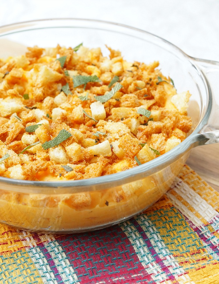 Thanksgiving Side Dish Recipe, Savory Sweet Potato Casserole