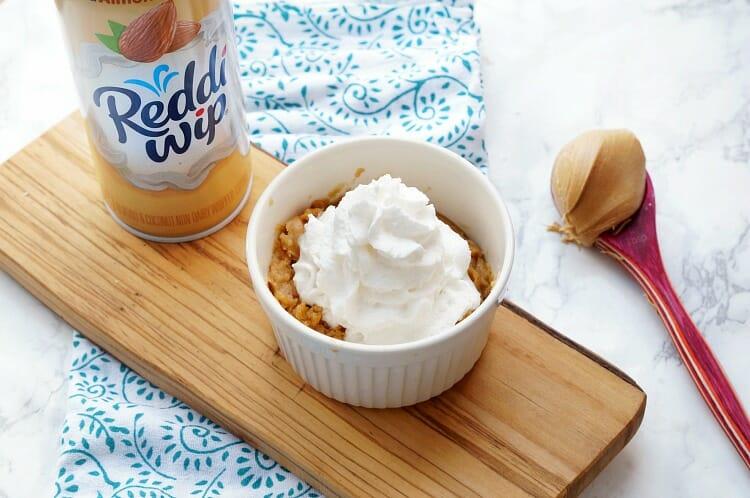 Microwave Peanut Butter Cake