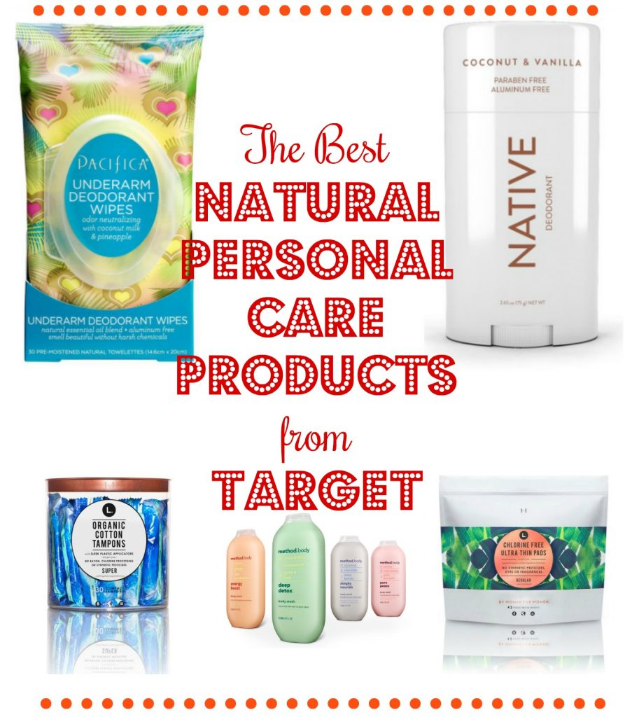 The Best Natural Personal Care Products from Target