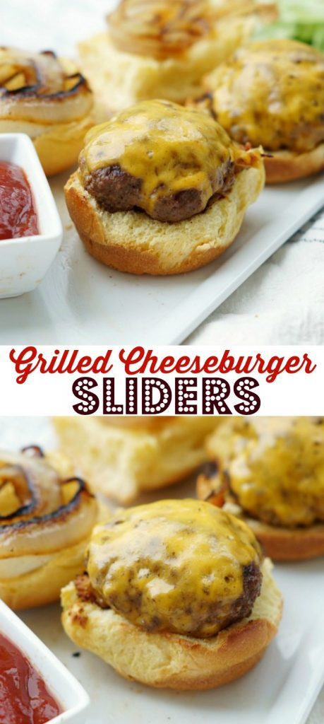 Grilled Cheeseburger Sliders