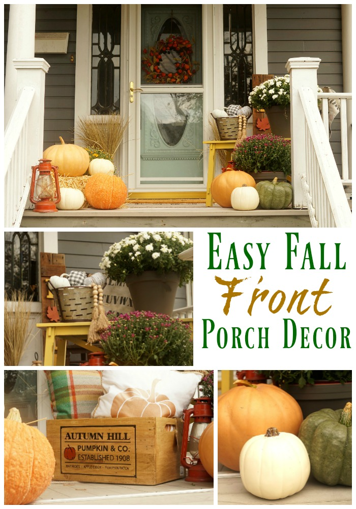 Easy Fall Front Porch Decor