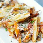 Baked Garlic Parmesan French Fries