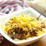 Easy Beef Chili Macaroni and Cheese