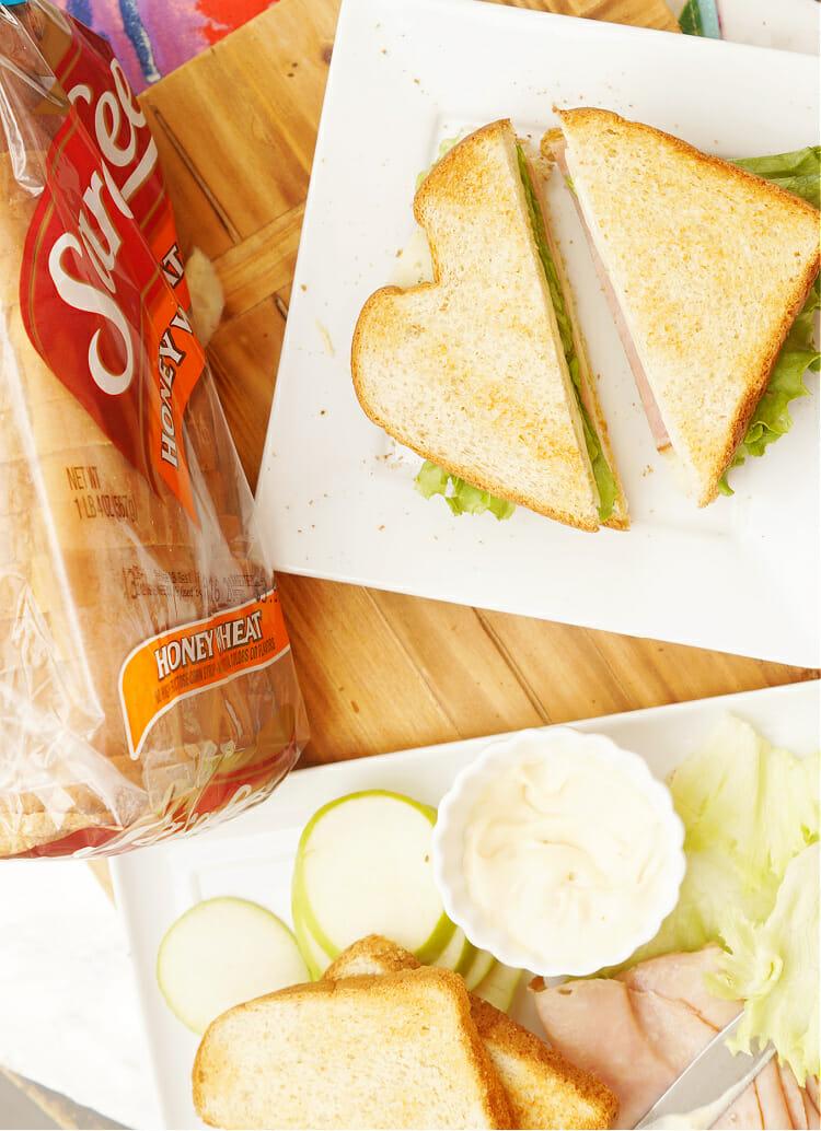Easy Lunchbox sandwich recipe