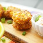 Air Fryer Cheesy Corn Fritters