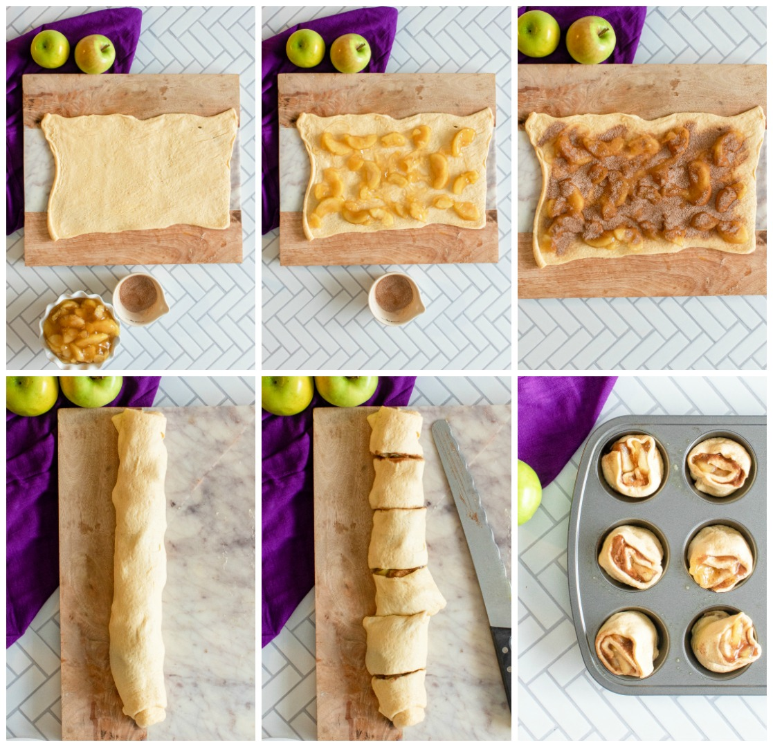 How to make apple pie cinnamon rolls