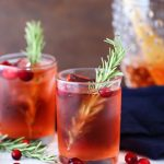 Apple Cranberry Spritzer