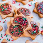 Brown Sugar Cookies with Nutella Frosting