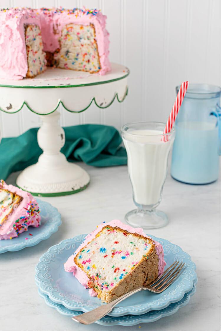 Funfetti Angel Food Cake