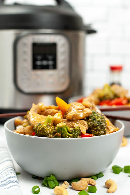 Cashew Chicken in the Instant Pot