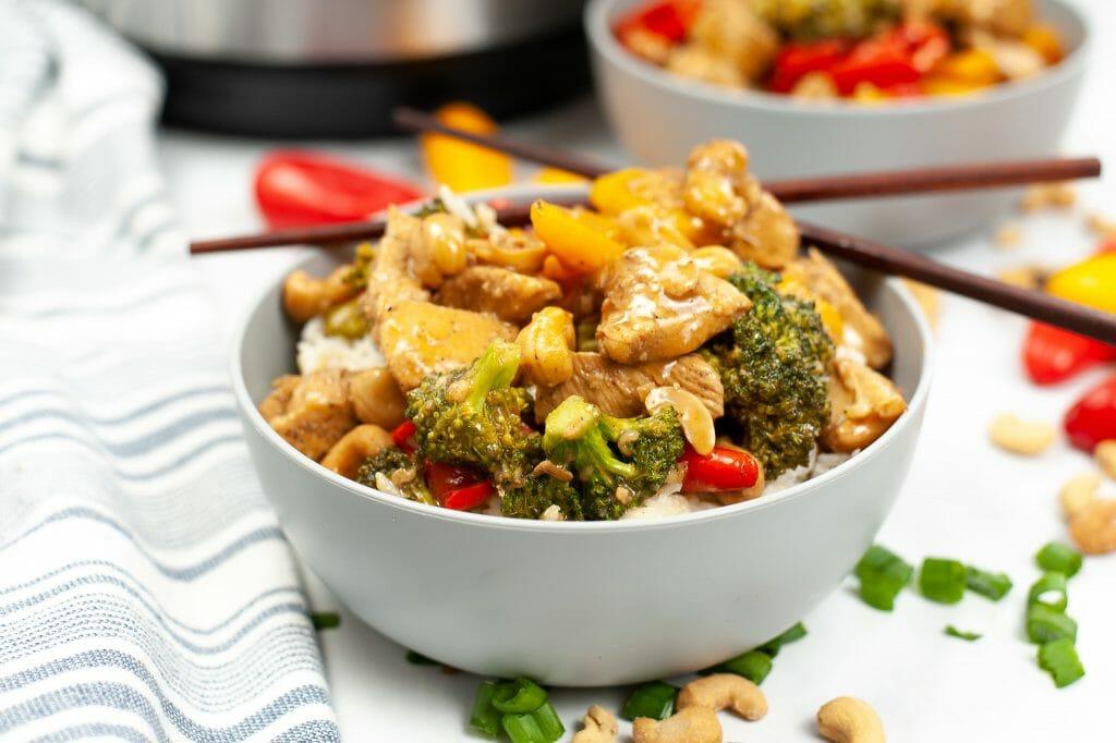 Homemade Cashew Chicken Recipe