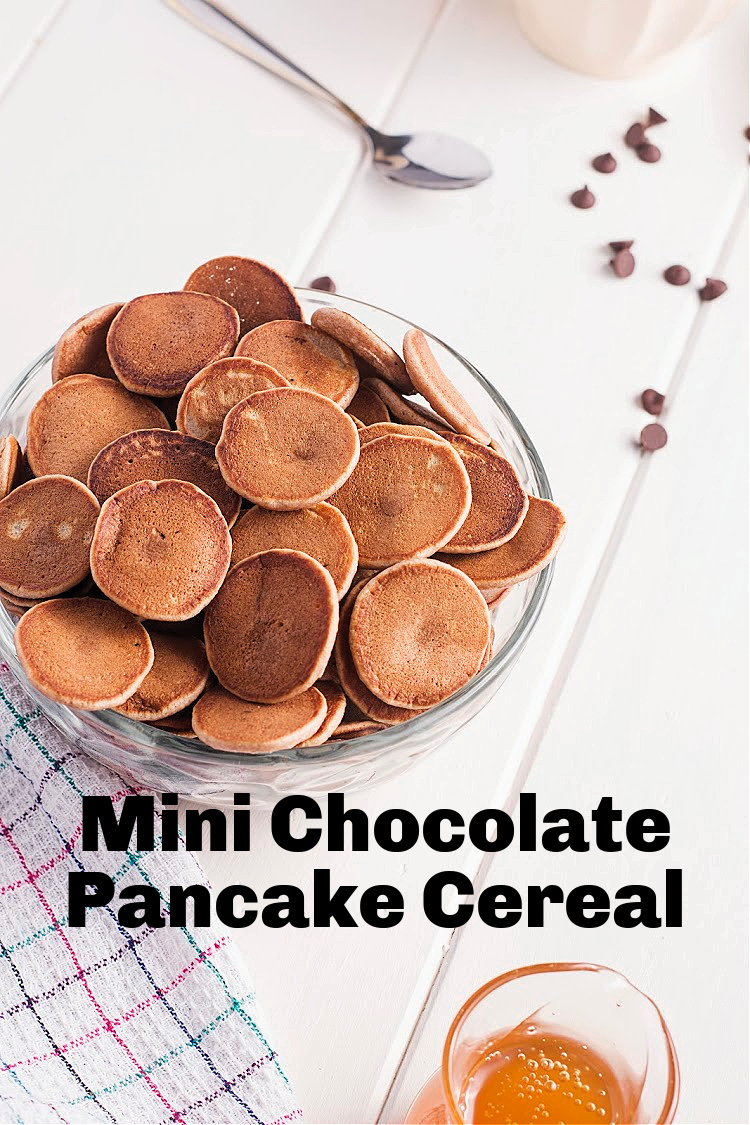 Mini Chocolate Pancake Cereal