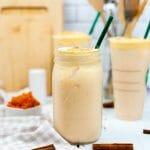 Starbucks Copy Cat Chai Tea Latte with Pumpkin Cream Cold Foam