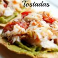 Healthy Grilled Fish Tostadas for 21 Day Fix and Weight Watchers